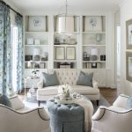 Fort Worth Georgian | Southern Home Magazine | Living Room | Blue & White | Chic...