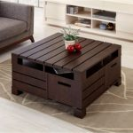Furniture of America Bartoll Square Storage Coffee Table & Reviews - Home - Macy's