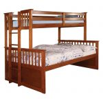 Furniture of America Metric Twin over Full Bunk Bed