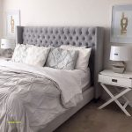 Grey Upholstered Headboard Bedroom Ideas - TopDekoration.com
