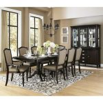 Homelegance Marston 10 Piece Double Pedestal Dining Room Set in Dark Espresso