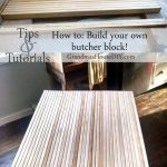 How to: Build your own butcher block DIY for your island or anywhere