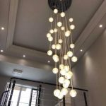 (In Stock)Contemporary Simple Pendant Light Electroplated Craftsmanship Transpar...