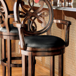 Kristina Swivel Bar and Counter Stools | Frontgate
