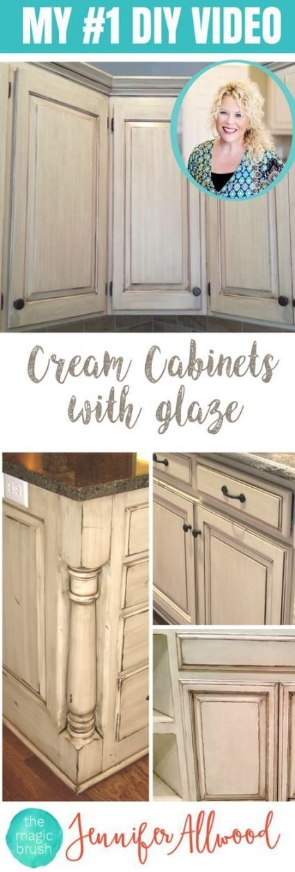 "Latest Photos Shabby Chic Kitchen cabinets Tips  With the idea of ""cheap chic…"