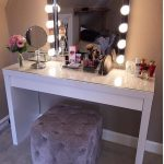 Love this chair! So cute!!! Sch - make-up table - #this # pretty # love # ...- L...
