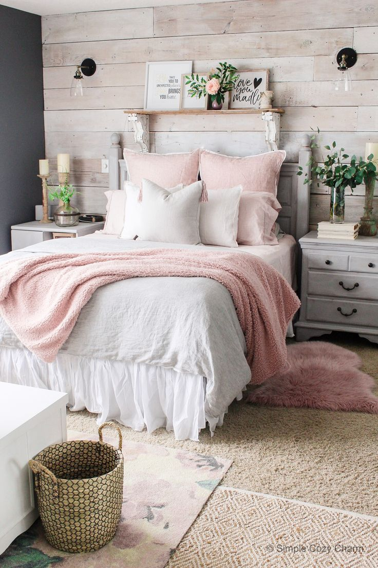 Mid-Winter Bedroom Facelift – Simple Cozy Charm