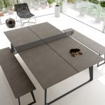 ModloftBlack Amsterdam Indoor Table Tennis Table | Birch Lane