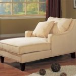 Neutral Microfiber Chaise Lounge by Coaster - 500029