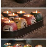 Pool Ball Candle Holder | Gift Ideas | Creative Spotting
