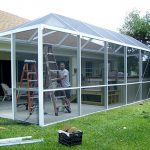 Pool Enclosures: Screen rooms: Condo panels: Freedom Aluminum, commercial and re...