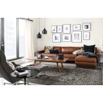 Room & Board -  Hess Leather Sectional - Modern Sectionals - Modern Living Room Furniture
