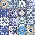 Set of 24 Tiles Decals Tiles Stickers mixed Tiles for walls Kitchen Bathroom fliesenaufkleber O