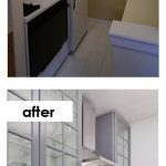 Small Kitchen Ideas on a Budget - Before & After Remodel Pictures of Tiny Kitchens - Involvery