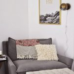 Smart Way To Decorate With Comfortable Reading Chair: Wall Reading Lamp And Comf...