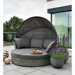 Sun loungers, tables and sofas with ...- Шезлонги, столики и д...