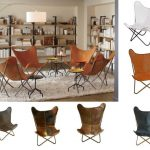 Tan Brown Leather Double Butterfly Chair - Buy Tan Brown Leather Double Butterfl...