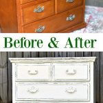 The Simple Beauty of White Distressed Paint - Petticoat Junktion