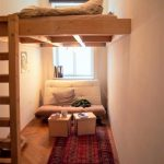 This cozy shared room is a place to relax. The small room will be