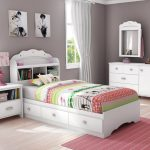 Tiara Twin Mate's & Captain's Bed with Drawers
