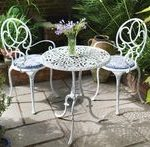 Useful Metal Garden Furniture More  - Patio Table - Ideas of Patio Table #PatioT...