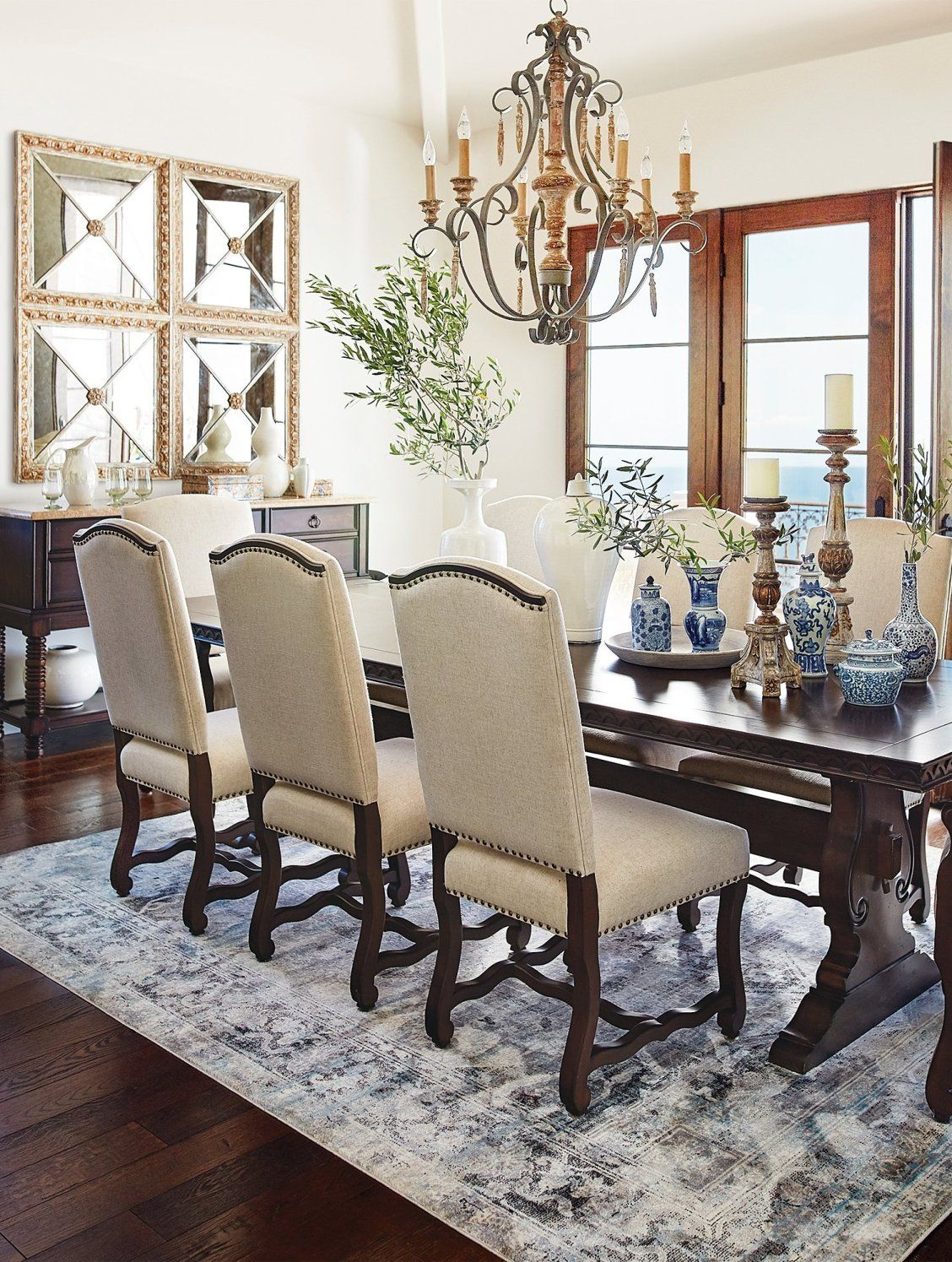 Valetta Dining Chairs   Frontgate