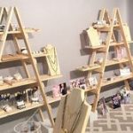 Wooden Ladder - Craft Fair Display - 5 foot - Ladder Shelf - Display Stand - Trade Show Display - Craft Show Display - Portable Display